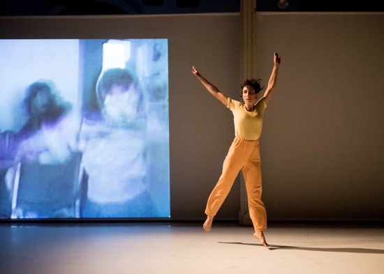 Netta Yerushalmy in her Helga and The Three Sailors. Photo: Ian Douglas