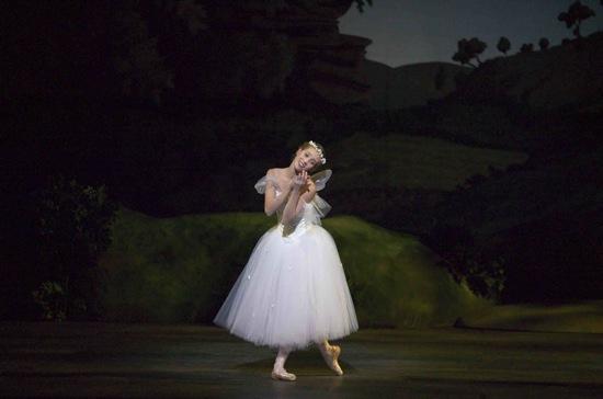 Gudrun Bojesen in La Sylphide in the Royal Danish Ballet's production in Copenhagen. Photo Costin Radu