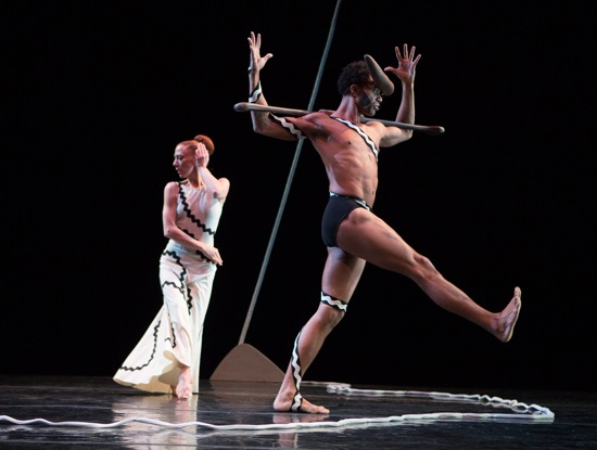 Blakeley White-McGuire and Abdiel Jacobsen in Graham's Errand into the Maze. Photo: Yi-Chun Wu