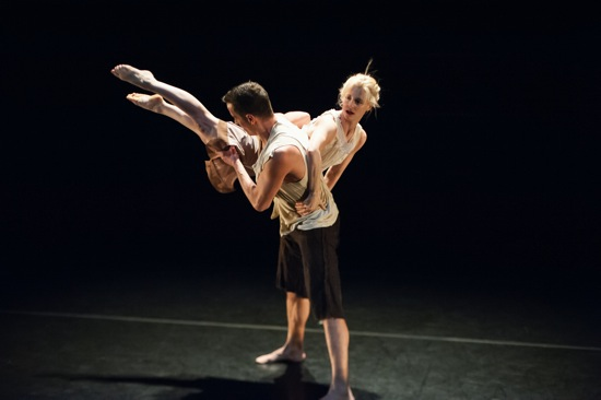 Douglas Gillespie and Leslie Kraus in Kate Weare's Bridge of Sighs. Photo: Keira Heu-Jwyn Chang