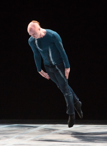 Alex Speedie in Shen Wei's Rite of Spring. Photo: Yi-Chun Wu