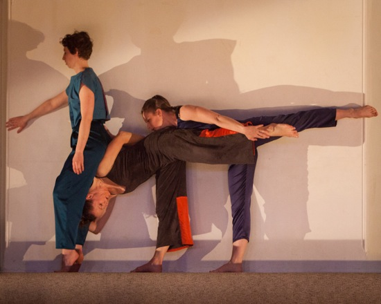 (L to R): Eleanor Smith, Katie Workum, and Weena Pauly in Workum's Black Lakes. Photo: Yi-Chun Wu