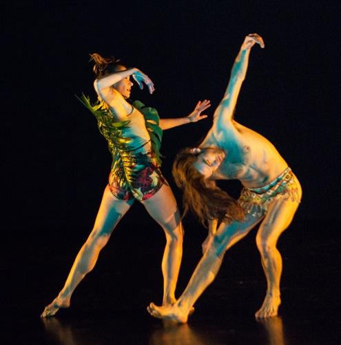 Melissa Toogood and Silas Riener in Rashaun Mitchell's Light Years. Photo: Yi-Chun Wu
