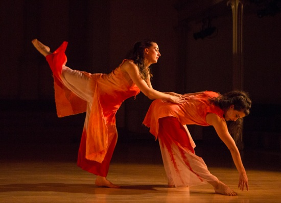 Christine Luciano (L) and Claire Westby in Cherylyn Lavagnino's Ru. Photo: Yi-Chun Wu