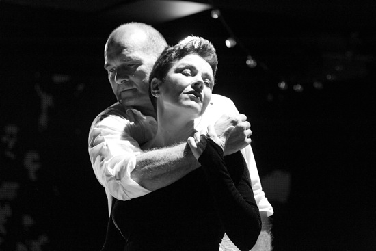 Christine Andreas and Pascal Rioult in Street Singer. Photo: Paul B. Goode