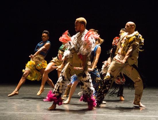 Facing the future. Visible (L to R): Ebony Williams, Raymond Pinto, and Joaquim de Santana. Photo: Yi-Chun Wu