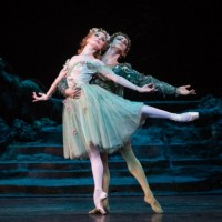 Titania (Sarah Lamb) and Oberon (Steven McRae) reconciled. Photo: Yi-Chun Wu
