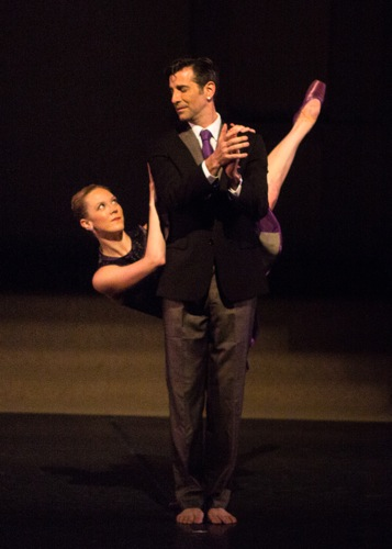 Elena Zahlmann and Jeffrey Kazin in David Parker's Two Timing. Photo: Yi-Chun Wu