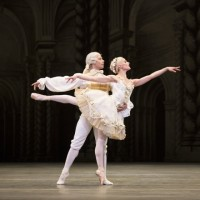 Sarah Lane and Herman Cornejo in the wedding pas de deux of The Sleeping Beauty Act III. Photo: Rosalie O'Connor
