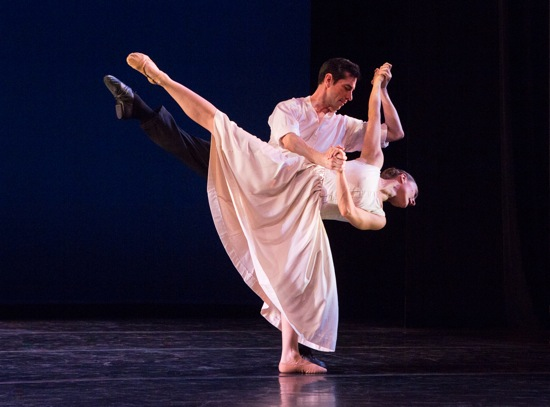 José Limón's Mazurkas: Francisco Ruvalcaba and Kathryn Alter. Photo: Yi-Chun Wu