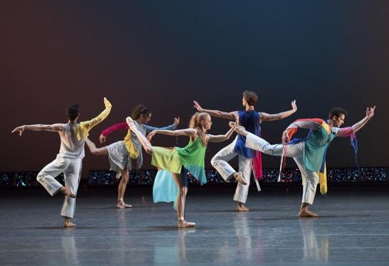 Common Ground (World Premiere) Choreography by: Troy New York City Ballet dancers in Troy Schumacher's Common Ground ((L to R): Anthony Huxley, Alexa Maxwell, Teresa Reichlen, Joseph Gordon, and Russell Janzen. Photo: Paul Kolnik nyc 212-362-7778