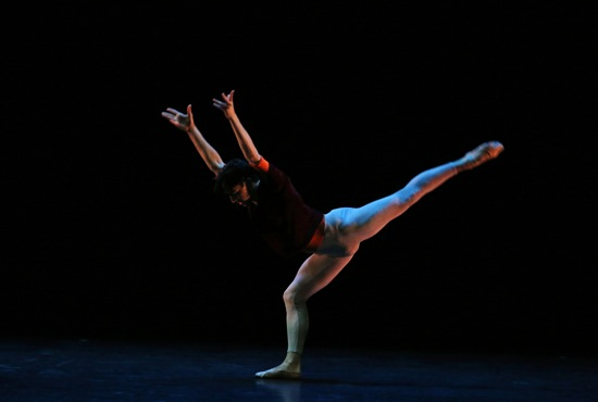 Joseph Walsh of the San Francisco Ballet in Hans van Manen's Solo. Photo: Julieta Cervantes New York, N.Y. October 8, 2015 Photo Credit: Julieta Cervantes