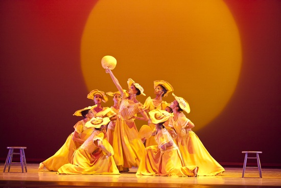 The women of the Alvin Ailey American Dance Theater in Ailey's Revelations. Photo: Gert Krautbauer