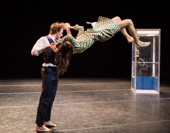 Jason Cianciulli and Lavinia Vago in Shannon Gillen's Separati. Photo: Yi-Chun Wu