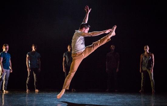 Marc Galvez in Alexander Whitley's The Murmuring. Photo: Yi-Chun Wu