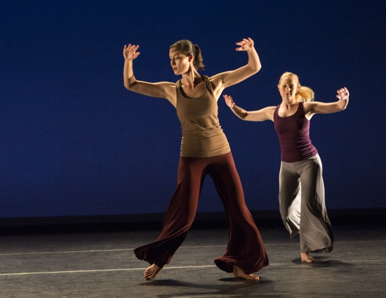Victoria Dombrowski (center) and Alexandra Mount-Campbell in Balkan Dreams. Photo: Whitney Browne