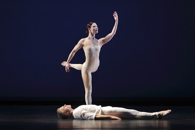 Laura Halzack and Michael Trusnovec in Paul Taylor's Beloved Renegade. Photo: Paul B. Goode