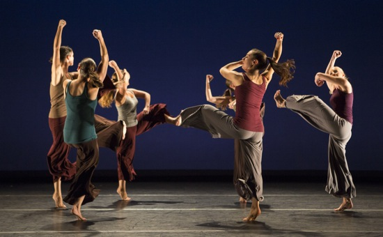 Members of Tine Croll + Company perform Balkan Dreams. Photo: Whitney Browne
