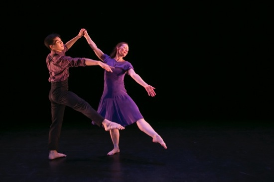 Boonyarith Pankamdech and Eleanor Bunker in Anna Sokolow's Kurt Weill. Photo: Melissa Sobel/Meems Images