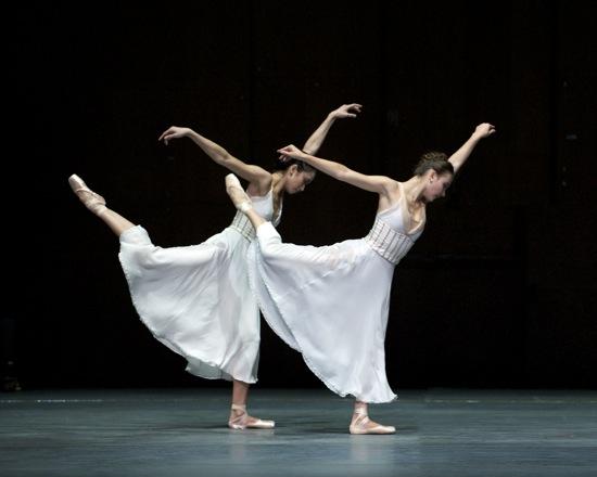 Stella Abrera and Christine Shevchenko in Alexei Ratmansky's Seven Sonatas. Photo: Marty Sohl