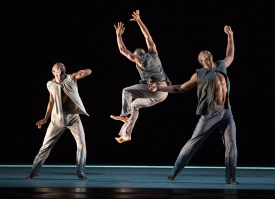 (L to R): Chalvar Monteiro, Michael Jackson, J., and Jamar Roberts. Photo: Yi-Chun Wu