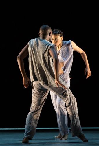 Michael Jackson, Jr. and Ghrai DeVore in Kyle Abraham's new work. Photo: Yi-Chun Wu