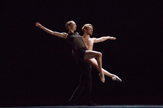 Emilie Leriche and Florian Lochner in Alejandro Cerrudo's Second to Last. Photo: Hayim Heron