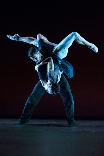 Jacqueline Burnett and Andrew Murdock in Robyn Mineko Williams' s Waxing Moon. Photo: Todd Rosenberg