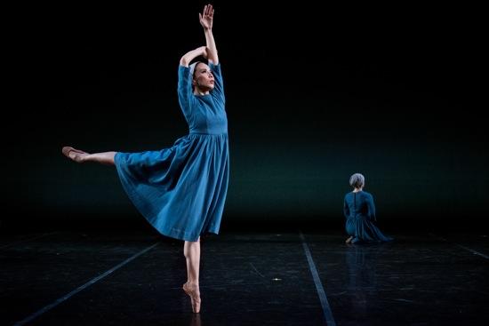 Mayu Oguri in Antony Tudor's Dark Elegies. Photo: Cherylynn Tsushima
