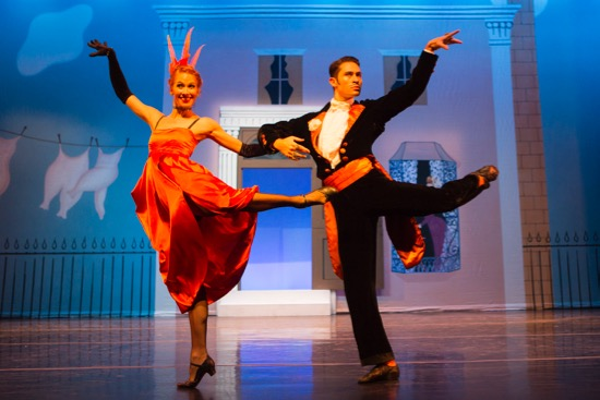 Danielle Brown and David Tlaiye in one Sarasota Ballet cast of Ashton's Facade. Photo: Yi-Chun Wu