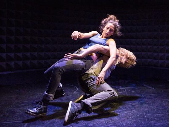Shaina Branfman and Bryan Strimpel in their On We Go. Photo: Yi-Chun Wu