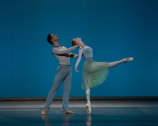 Gillian Murphy and Marcelo Gomes in Jessica Lang's Her Notes. Photo: Rosalie O'Connor