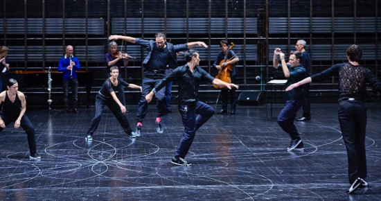 Oct. 13, 2016 - New York, NY Anne Teresa De Keersmaeker's U.S. premiere of Vortex Temporum Rosas & Ictus at the BAM Howard Gilman Opera House in Brooklyn. Music by Gerard Grisey