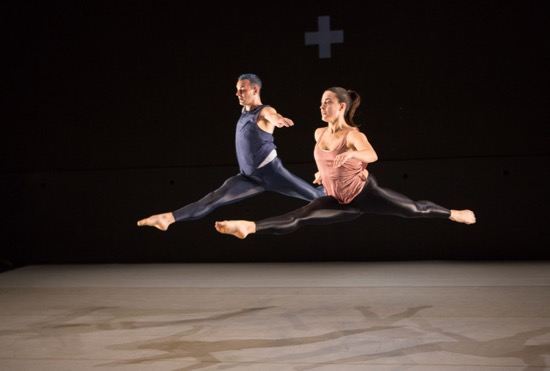 Brandon Collwes and Claire Westby in Liz Gerring's (T)There to (T)here. Photo: Yi-chun Wu