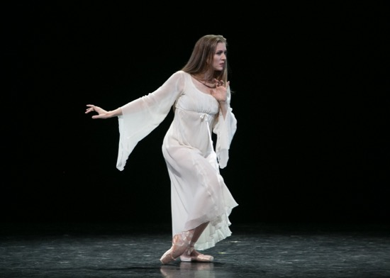 Carla Körbes performing Balanchine's Elégie at Vail Dance Festival: ReMix NYC. Photo: Erin Baiano