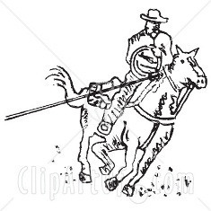 14828-Roper-Cowboy-On-A-Horse-Using-A-Lasso-To-Catch-A-Cow-Or-Horse-Clipart-Illustration.jpg