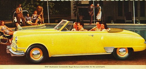 Trading in the Studebaker