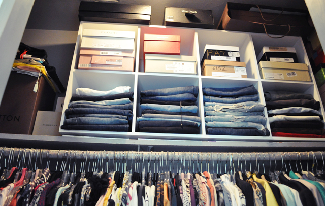 Cleaning out our closets field notes How to organize your clothes without a closet