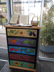 A seed library for community use is housed at the Santa Cruz Museum of Art and History.