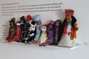 The sisterhood puppets created by the participants of [i am] Project KALI – Celebration of Womanhood