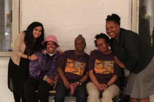 At Gallery Four (Baltimore, MD) with the women participants from [i am] Project KALI – Celebration of Womanhood