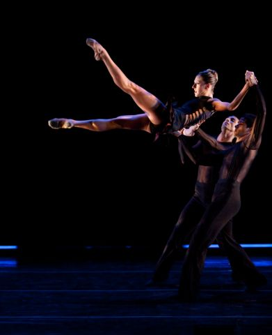Ballet Hispanico Company Members Perform Triptico - Photo By Rosalie o'Connor.jpg