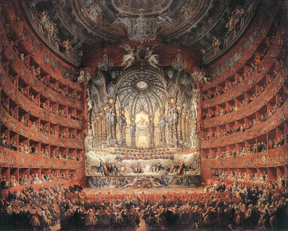 baroque orchestra painting - photo #26