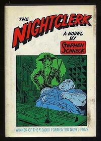 'The Nightclerk' by Stephen Schneck [Grove Press, 1965]
