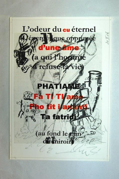 Gerard Bellaart's 'Artaud Fragmentations' [2005]