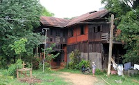 Orwell's house in Katha, Myanmar. [Photo: Aung Shine Oo for The New York Times]