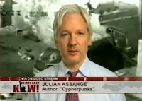 Assange: It's U.S. Security State vs. First Amendment