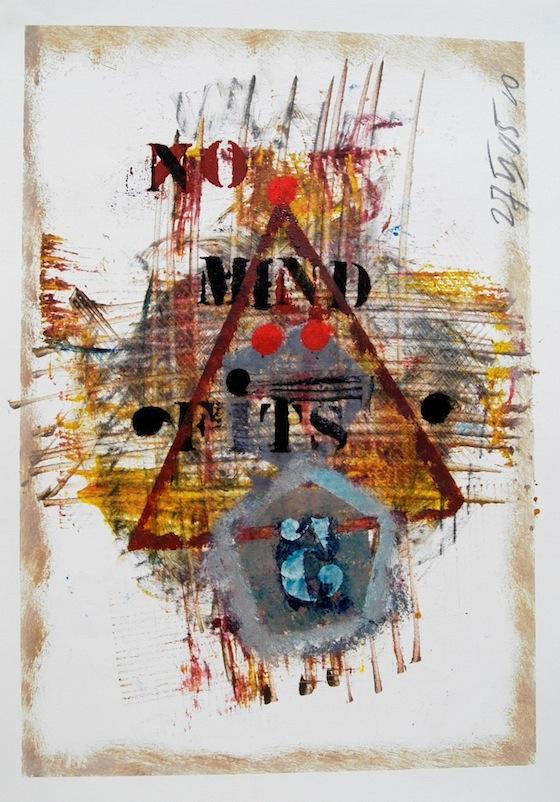 'no mind fits 5' © 2005 by Gerard Bellaart
