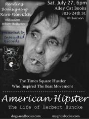<center>Herbert Huncke, Beat Hipster <em>Sans Pareil</em></center>