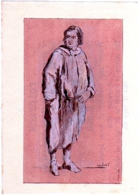 Honoré de Balzac [by Gerard Bellaart, 1.XII,00]